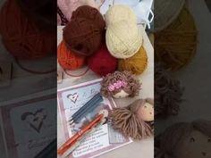 Aula 1 - Aprenda 3 Cabelos de bonecas fácil e lindos! - YouTube