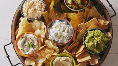 You'll Be The Life Of The Party With This Ultimate Chip & Dip Platter