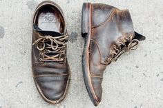 ajchen: My Viberg 1950 Service Boots at the 3... -