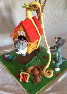 torta tom y jerry - Buscar con Google