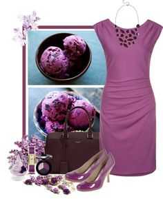"""""""Blueberry Froyo"""" by weeyz ❤ liked on Polyvore"""