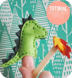 Delight your little ones with a finger puppet show. This project is quick and cute, and it's a great way to use up some of those colorful felt scraps in your stash.