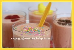 Cool smoothies for kids!