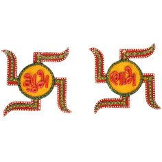 Shop Little India Unique Kundan Swastik Shubh Labh Door Hanging (DLI3HCF254) online at lowest price in india and purchase various collections of Wall Decoratives in Little India brand at grabmore.in the best online shopping store in india