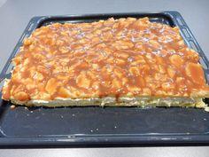 Výborný recept na větrník na plechu. Super recept, větrník na plechu se povedl. Šlehačka má úžasnou chuť. Větrník na plechu musíte vyzkoušet... Apple Desserts, Sweet Desserts, Sweet Recipes, Cake Recipes, Dessert Recipes, Slovak Recipes, Cheesecake Cupcakes, No Bake Cake, Macaroni And Cheese