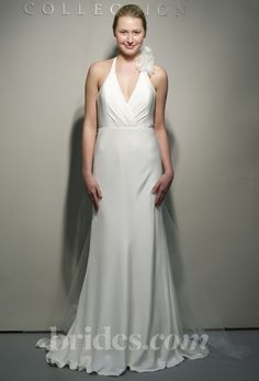 Simple Halter Wedding Gowns For Your Second Time Around | I Do Take Two