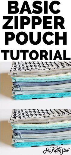 zipper pouch tutorial, basic zipper pouch tutorial, free zipper pouch tutorial, make a zipper pouch, easy zipper pouch tutorial