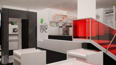 Sala de Exhibición y Capsula del Tiempo, Local Comercial