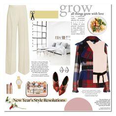 """New Year's Style Resolution"" by leniastuti ❤ liked on Polyvore featuring STELLA McCARTNEY, Prada, Joseph, Kate Spade, Fendi, Eddie Borgo and Charlotte Tilbury"