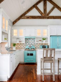 Love love love! House of Turquoise: Karr Bick Kitchen and Bath