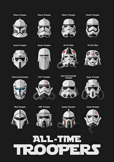 All time Troopers