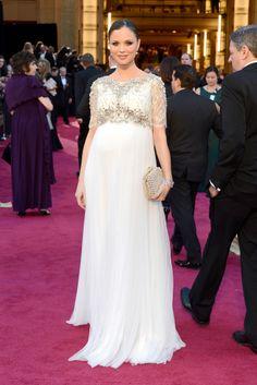 Georgina Chapman, diseñadora de Marchesa en los Oscar 2013