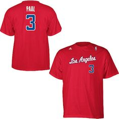 Chris Paul Los Angeles Clippers NBA Adidas player t-shirt NWT LA CP3 Clipps #ChrisPaul #CP3 #LosAngelesClippers #LAClippers #Clippers #Adidas #NBA #NBATshirts #Tshirts #LAClipps #Clipps #MarvelousMarvs