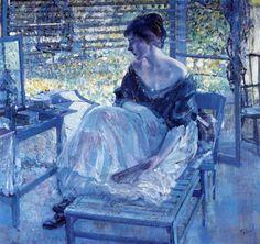 Richard E. Miller (1875- 1943) American Impressionist painter. - ehdu