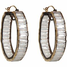 Nak Armstrong Rainbow Moonstone Hoop Earrings at Barneys.com