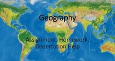 Students who are looking for Geography dissertation help should visit MyAssignmenthelp. Website: https://myassignmenthelp.com/dissertation/geography-dissertation-help.html