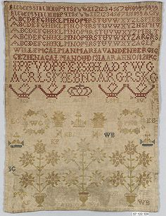 Sampler - 1829 - Dutch