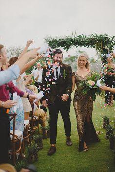 Tropical Glamour: Nicholas and Skye's Wedding at the Istana, Bali
