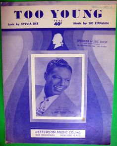 """Nat King Cole """"Too Young"""" from 1951"""