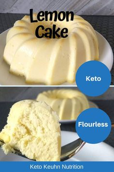 dessert recipes 761038037021774401 - total carbs for this flourless keto lemon cake. This homemade recipe from scratch is not dense but very moist. I also love that it's easy and gluten free. Source by ketokeuhnnutrition Ketogenic Desserts, Keto Friendly Desserts, Low Carb Desserts, Keto Snacks, Healthy Desserts, Low Carb Recipes, Ketogenic Diet, Lemon Dessert Recipes, Juice Recipes