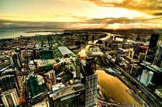 Melbourne Sundown, Australia - Jaideep Singh Rai