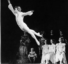"""Mikhail Baryshnikov in 'Swan Lake"""" with the National Ballet of Canada, 1975 (photo by Martha Swope) Male Ballet Dancers, Ballet Boys, Ballet Class, Ballet Music, Ballet Art, Dance Ballet, Dance Photos, Dance Pictures, Dance Dreams"""