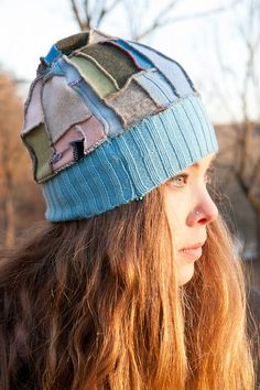 Cashmere Recycled Sweater Hat by Jeorjia on Etsy, $34.99