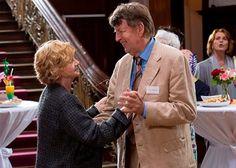 """Christine Schorn, Jörg Gudzuhn, Senta Berger in """"Altersglühen – Speed Dating für Senioren"""""""