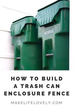 How to build a Trash