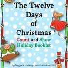 This little holiday booklet allows students to  sing/read the number words that represent each element in the song.  Additionally, students will  p...