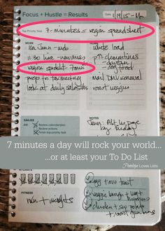 The 7-Minute Strategy that will help you bust through those annoying projects that languish on your To Do List.