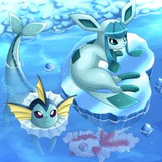 Pokemóns aquaticos.