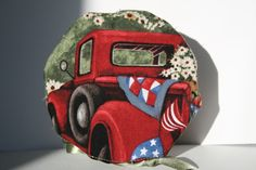 Check out this item in my Etsy shop https://www.etsy.com/listing/491147235/red-chevy-truck-jewelry-travel-bag