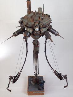 """Ma.K. 1/20 scale Neuspotter """"PINOCCHIO"""" By katoya #Ma_K #Maschinen_Krieger"""