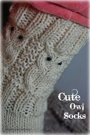 Vastaa Craft Projects, Projects To Try, Owl Patterns, Boot Cuffs, Marimekko, Knitting Socks, Knit Socks, Handicraft, Fingerless Gloves