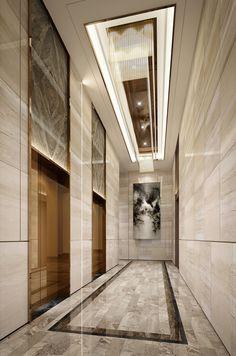 Hotel Lobby Design, Elevator Lobby Design, Floor Design, Ceiling Design, Lift Design, Mawa Design, Lobby Interior, House Elevation, Luxury Apartments