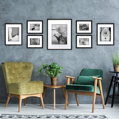 7 Piece Perfect Wall Picture Frame Set