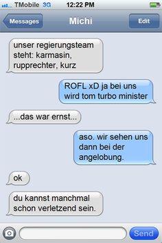Geheime SMS: So rekrutierte Spindelegger seine neuen Minister Hush Hush, Messages, Politics