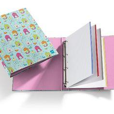 Carpeta 4 Anillas Birds by Fly High. MIQUELRIUS - Birds 4 Ring Bound Folder. MIQUELRIUS