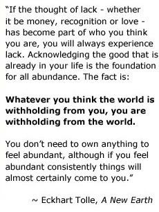 Eckhart Tolle. A New Earth ❤️☀️