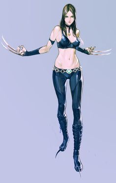 x-23 by ~masateru on deviantART
