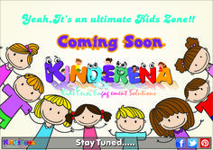 Hey Kiddos, Something Exciting is on the Cards… We Promise, it's Worth Waiting #Kinderena