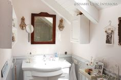 935 Best Shabby Chic Bathrooms Images On Pinterest Shabby Chic
