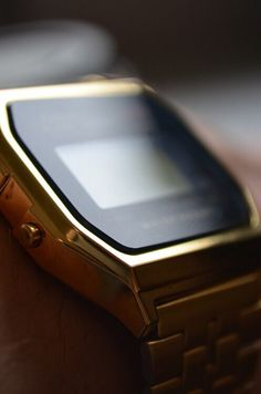 Whether it be features or appearance, Casio Watches have it all. When you know just what you would like, a little shopping around over the internet can help you find the best offers. Casio Gold, Dream Watches, Square Faces, Casio Watch, Gold Watch, Watches For Men, Men's Watches, Mens Fashion, Retro