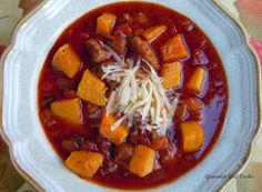 Gourmet Girl Cooks: Autumn Chili - Spicy & Sweet