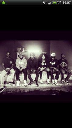 Jay Rock Schoolboy Q Kendrick Lamar SZA Ab-Soul Isaiah Rashad TDE Top Dawg Entertainment Black Hippy