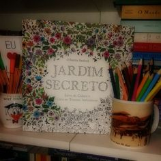 livro jardim secreto johanna basford | Resenha] Jardim Secreto – Johanna Basford