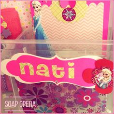 Cajas personalizadas. Elsa en Primavera !!! ❄️