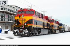 RailPictures.Net Photo: KCS 4830 Kansas City Southern Railway GE ES44AC at LeClaire, Iowa by Tom Farence