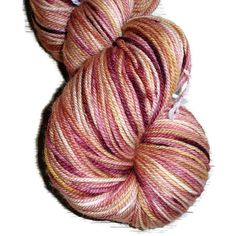 Wine Yellow Hand Dyed Corriedale Wool DK Weight Yarn, 3-ply Harry Potter Line: Gryffindor, Made in Denmark.